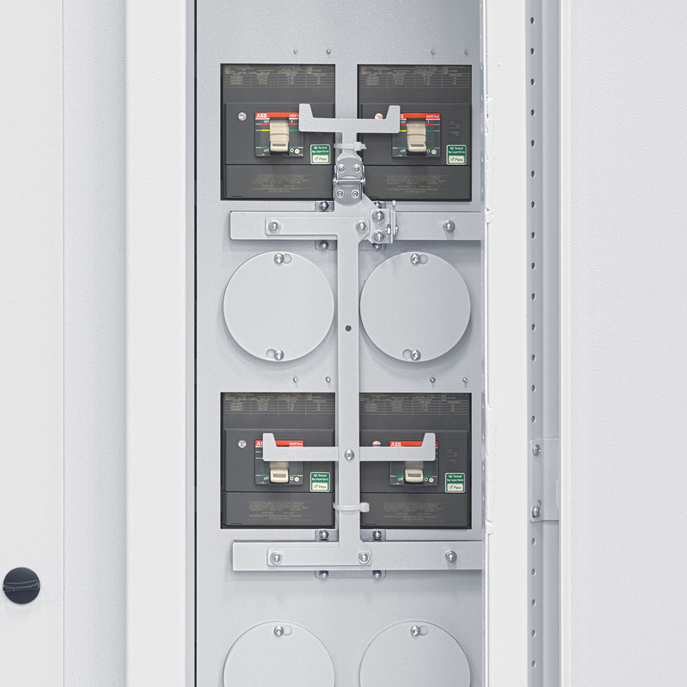 Static Transfer Switch Bypass Interlock Mechanism.