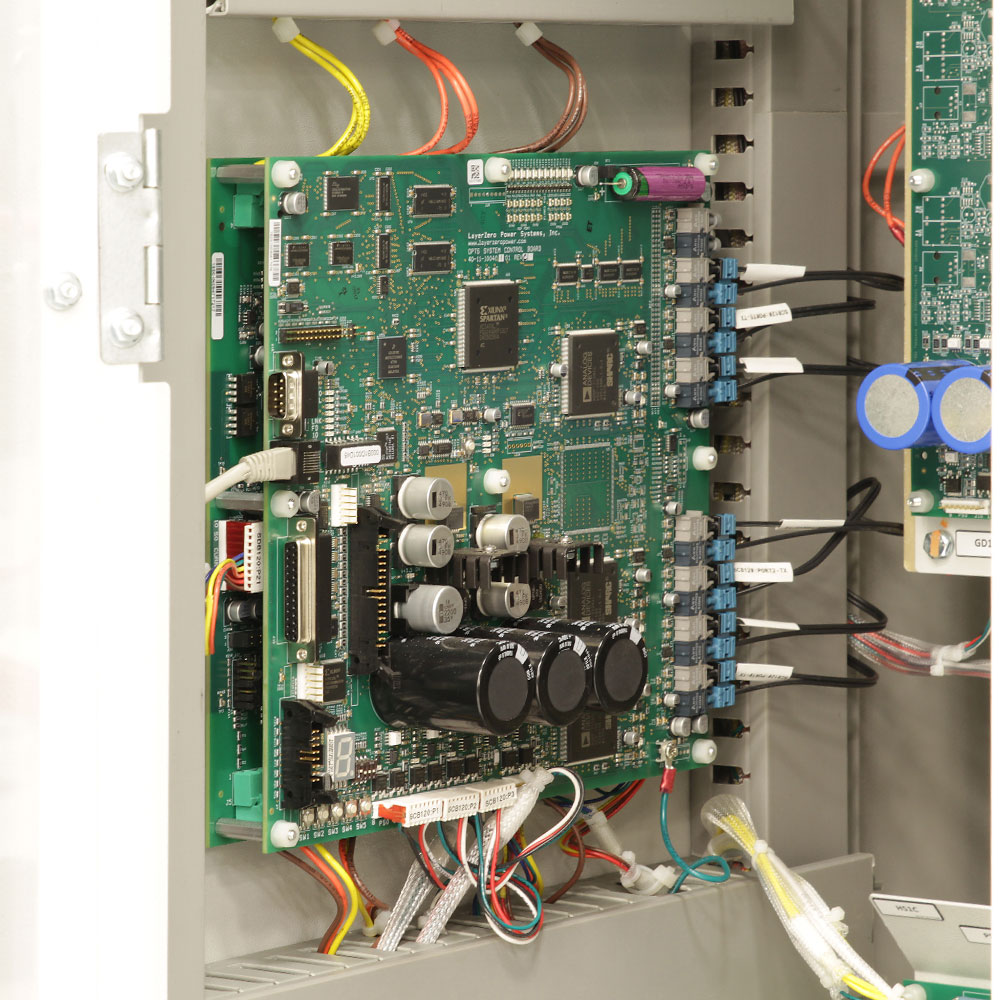 The LayerZero Series 70: eSTS System Control Board (SCB).