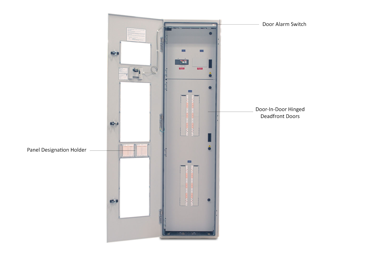 eRPP Remote Power Panel Outer Door Open